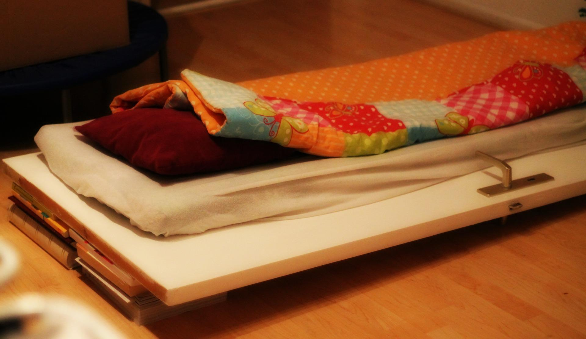 When is a door not a door? When it's an inclined bed that improves your health and wellbeing