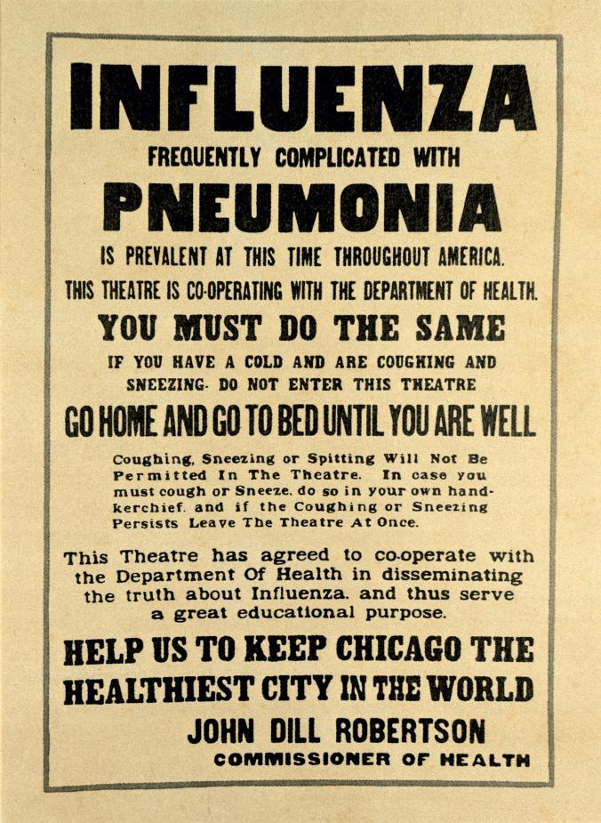 flu pandemic advice is deadly