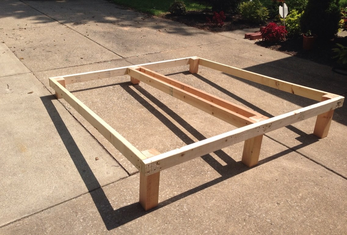 Inclined Bed Therapy bed frame insert Simple and robust method