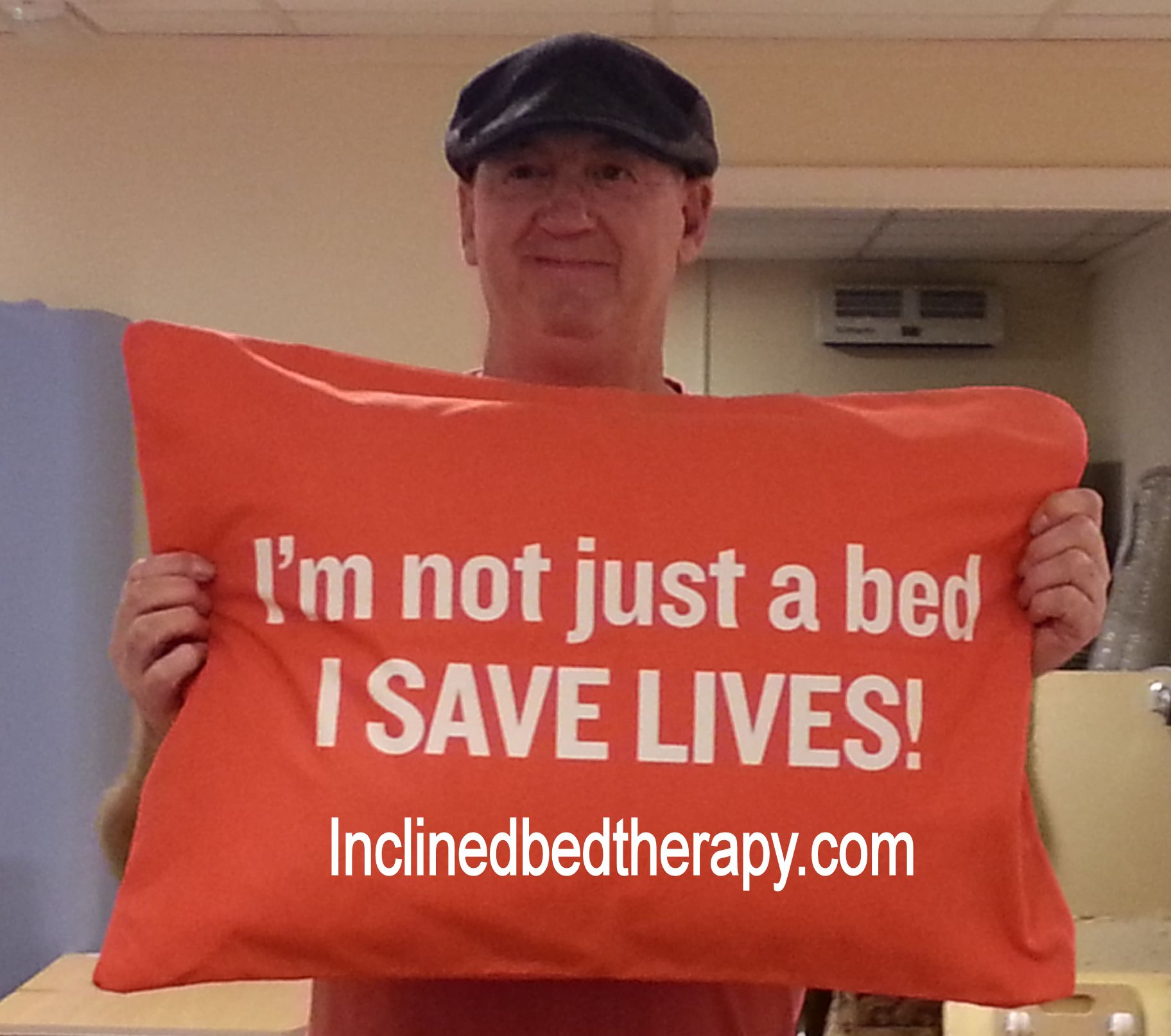 inclined bed therapy saves and improves lives