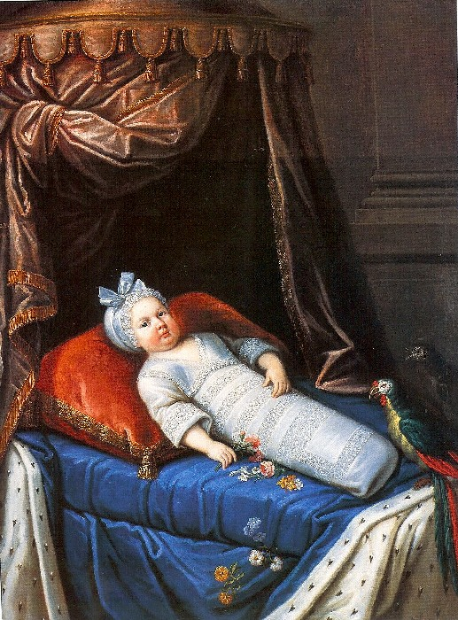 louis x1v q frsch 1638 inclined as a baby
