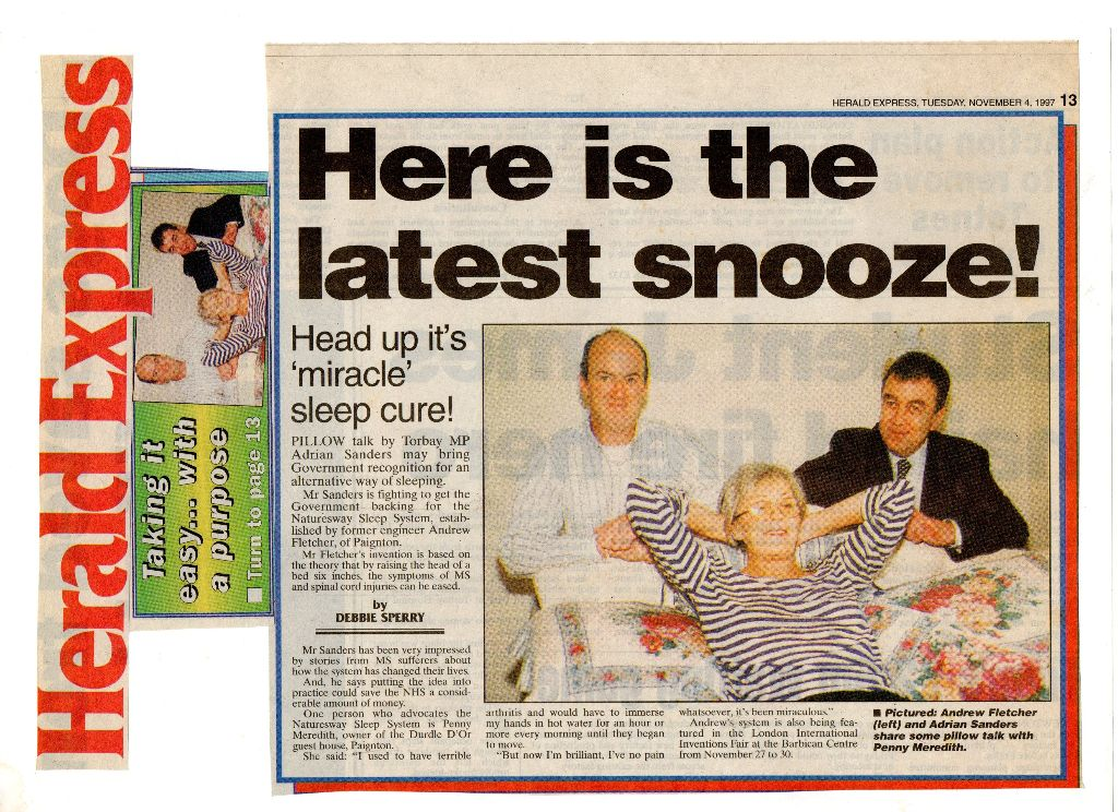 herald express here is the latest snooze