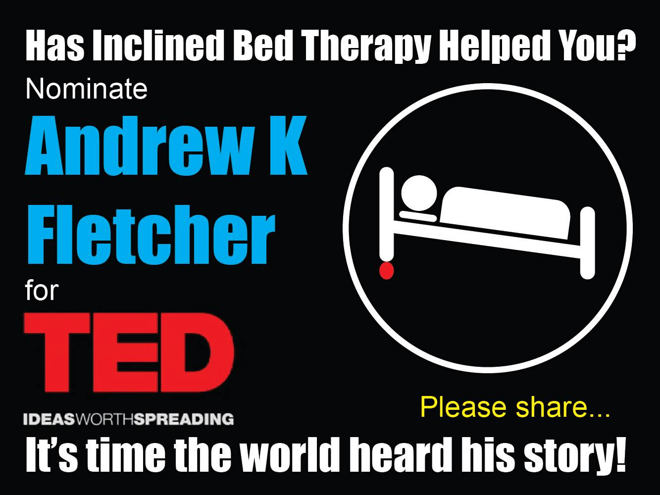 Andrew for TED Talk's Nomination